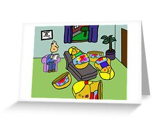 I Believe We Can Go Deeper Greeting Card
