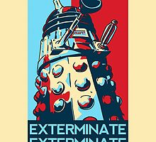 Doctor Who - Vote For Daleks by TylerMellark