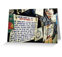 """""""This Was a Hopeful Place."""" Greeting Card"""
