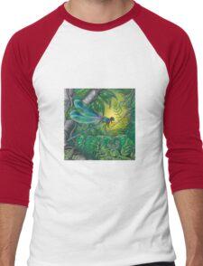 """Dragonfly Dreaming"" Men's Baseball ¾ T-Shirt"