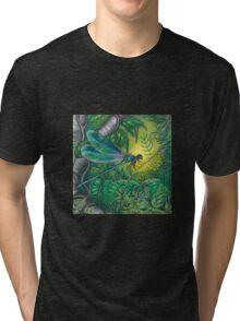"""Dragonfly Dreaming"" Tri-blend T-Shirt"