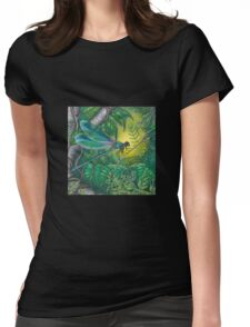 """Dragonfly Dreaming"" Womens Fitted T-Shirt"