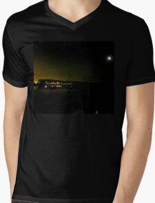 The Dark Night Mens V-Neck T-Shirt