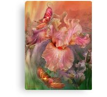 Iris - Goddess Of Spring Canvas Print