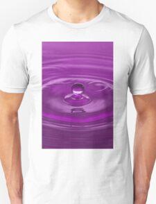 Purple Water Drop T-Shirt