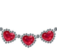 Pretty Woman Ruby Necklace by eldonshorey