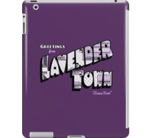 Greetings from Lavender Town iPad Case/Skin