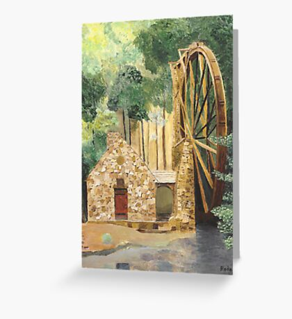 Old Mill at Berry College Greeting Card