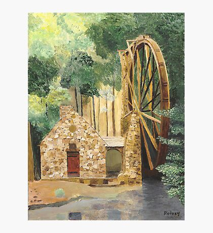 Old Mill at Berry College Photographic Print