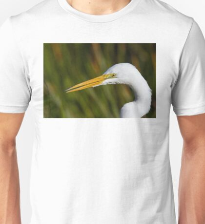 Great White Egret Unisex T-Shirt
