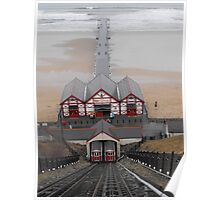 Saltburn Cliff Railway and Pier Poster