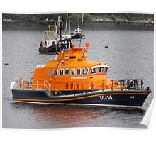 Portree, Skye RNLI Lifeboat Poster