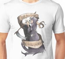 """Death be a Lady"" Grim Reaper Unisex T-Shirt"