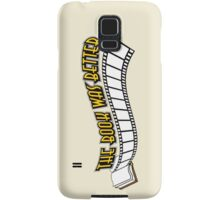 Books Addicted - The Book Was Better (VS Movie) Samsung Galaxy Case/Skin