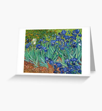 Vincent Van Gogh irisis Greeting Card