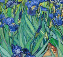 Vincent Van Gogh irisis Sticker