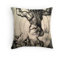 caracoal pieces Throw Pillow