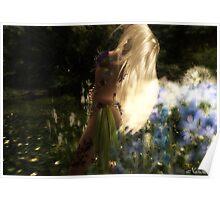 Flower's Spirit Poster