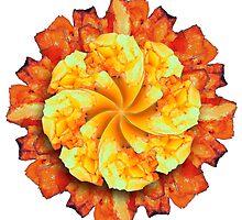 Mango Sunflower Design by GolemAura