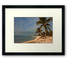 Sombrero Beach, FL Framed Print