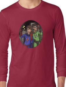 X-Ray and Vav Selfie Long Sleeve T-Shirt