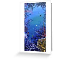Passing Rays Greeting Card