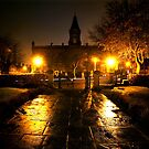 Saltaire Victoria Hall Night by Lorne  Campbell