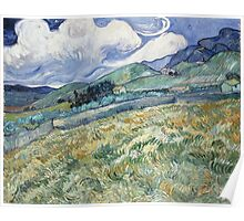 Vincent Van Gogh landscapes from Saint-Remy Poster