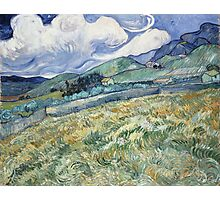 Vincent Van Gogh landscapes from Saint-Remy Photographic Print
