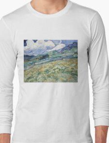 Vincent Van Gogh landscapes from Saint-Remy Long Sleeve T-Shirt