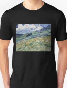 Vincent Van Gogh landscapes from Saint-Remy T-Shirt