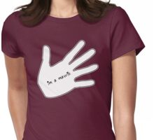 Helping Hand Womens Fitted T-Shirt
