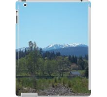 Olympic Moutains, Sequim, WA iPad Case/Skin