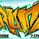 Drunk Graffiti by Rangi Matthews