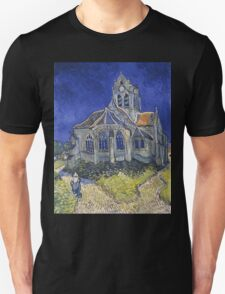 Vincent Van Gogh church at Auvers T-Shirt