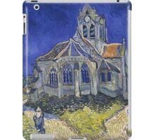 Vincent Van Gogh church at Auvers iPad Case/Skin