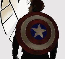 Captain America by WhatEvenNo