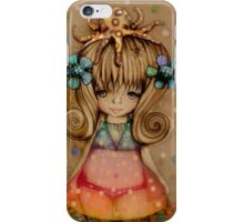 The Girl and the Octopus iPhone Case/Skin