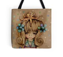 The Girl and the Octopus Tote Bag
