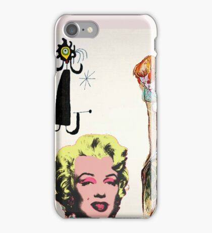 Louis, Miro, Warhol, Toulouse-Lautrec iPhone Case/Skin