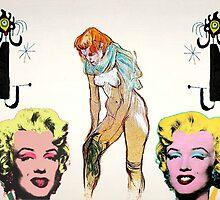 Louis, Miro, Warhol, Toulouse-Lautrec by beanbag47