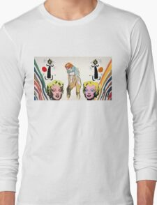 Louis, Miro, Warhol, Toulouse-Lautrec Long Sleeve T-Shirt