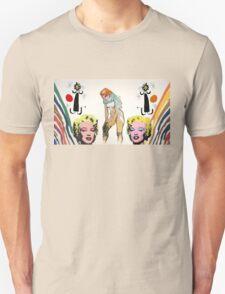 Louis, Miro, Warhol, Toulouse-Lautrec Unisex T-Shirt