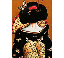 Geisha Girl Prints Photographic Print