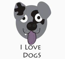 I Love Doggs by saintjay