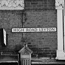 Leyton High Road Sign by Simon Gentleman