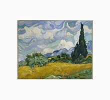 Vincent Van Gogh wheat field with cypresses T-Shirt