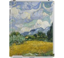 Vincent Van Gogh wheat field with cypresses iPad Case/Skin