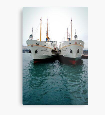 Ships Metal Print
