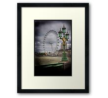 The Green Green Glass of Home Framed Print